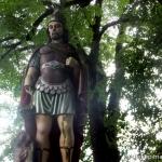 Kisvaszar, Szent Flórián szobra